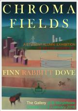 Chromafields Exhibition Invite
